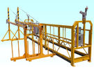 ODM Steel Adjustable Cradle Yellow Suspended Working Platform