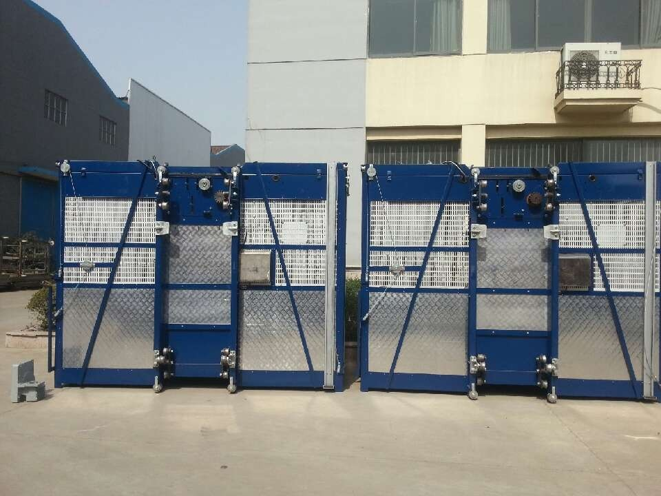 Elevator Personnel Hoist platform , Electric Scaffold Hoist