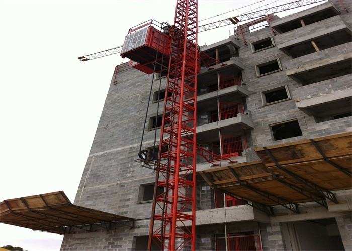 High Speed Construction Hoist Elevator For Building Construction