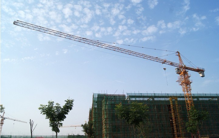 Tower Crane with 55m Height Under Hook, 1.3ton Tip load Tower Crane 5013